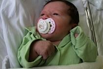 Klaudie Šmehlíková, Stražisko, narozena 16. března, 50 cm, 3650 g