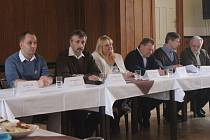 Setkání prostějovské opozice. Ilustrační foto