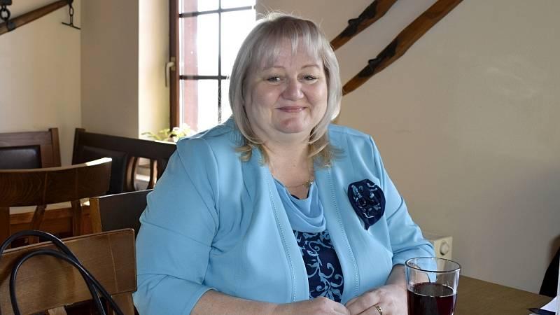 Překvapivou poslankyní se díky kroužkování stala prostějovská zastupitelka Hana Naiclerová. 10. října 2021