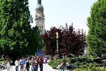 Náměstí T.G.M. v Prostějově
