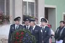 Slavnostní kladení věnce v předvečer 28. října 2017 - Němčice nad Hanou