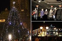 Slavnostní rozsvícení vánočního stromu v Prostějově - 27. 11. 2015