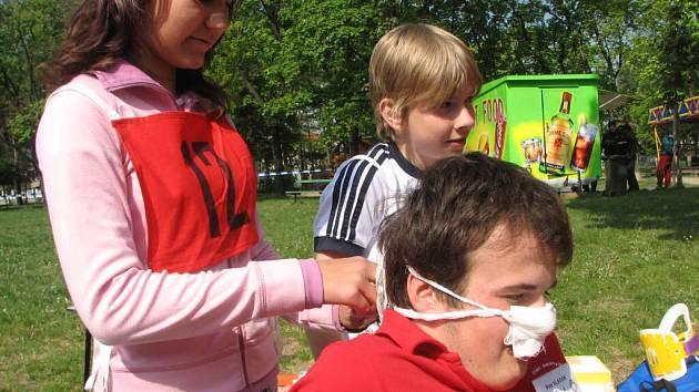 Děti soutěžily o pohár zdravého města Prostějov.