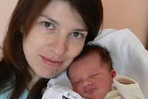 Kristýnka Štefková s maminkou Eliškou, Myslejovice, Narozena 14. ledna 2010, 50 cm, 3350 g