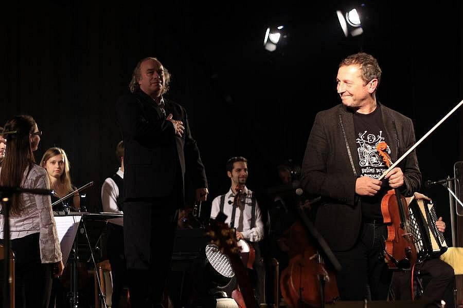 Koncert Čechomoru v prostějovském Kasku
