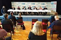 Debata s prostějovským primátorem Jurou v klubu Duha, 20. října