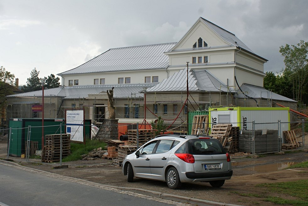 Výstavba komunitního centra v Konici - 20. května 2019