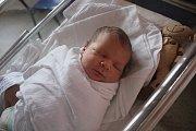 Matyáš Ramazan Karayigit, Prostějov, narozen 25. července, míra 50 cm, váha 3750 g