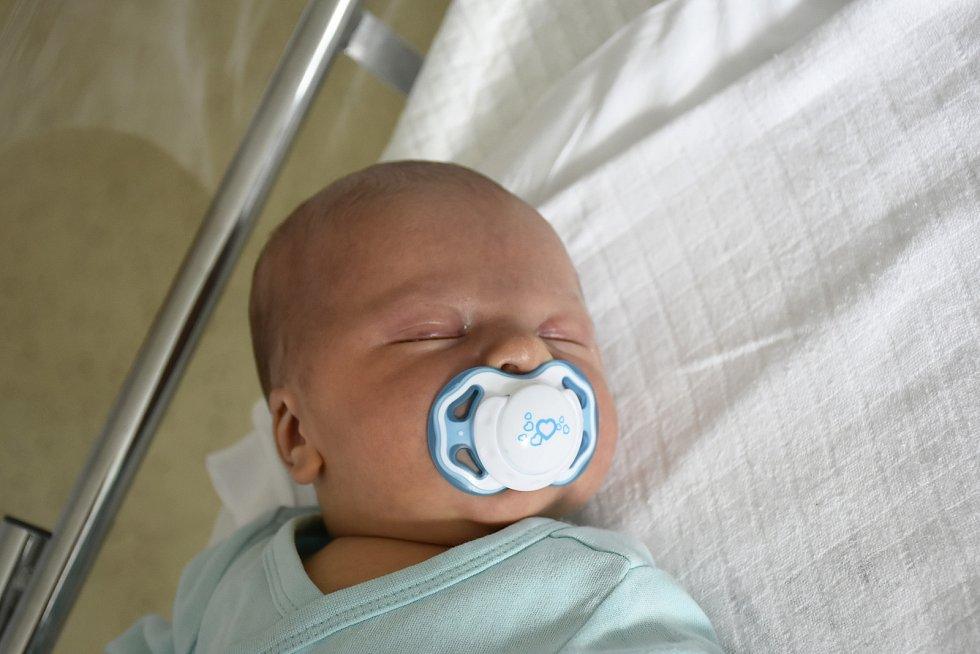 Štěpán Konvička, Prostějov, narozen 3. října 2020 v Prostějově, míra 52 cm, váha 4050 g