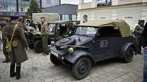 Wehrmacht a spojenci na prostějovském náměstí, 18. září 2021