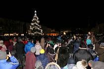 Rozsvícení vánočního stromu v Prostějově - 30. listopadu 2018
