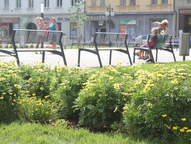 Zeleň v centru Prostějova