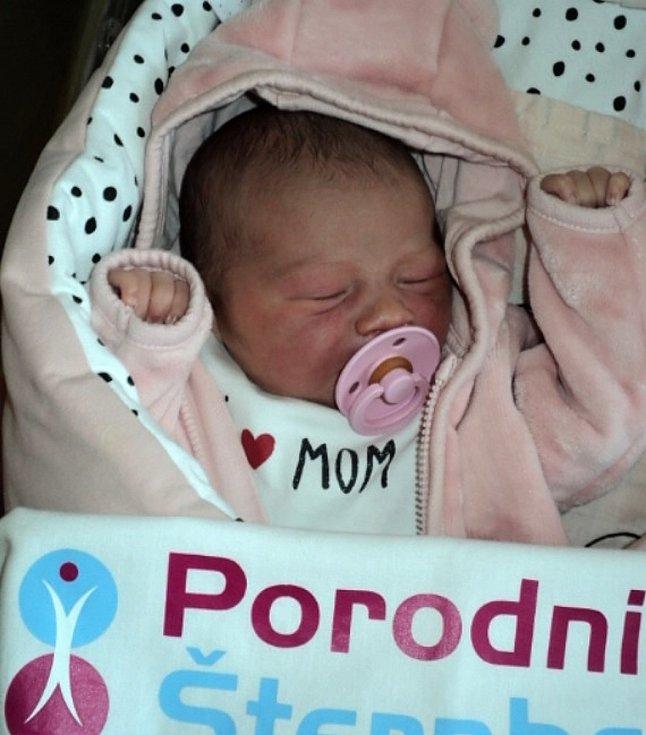 Charlotte Drápalová, Tršice-Hostkovice, narozena 28. července 2020, míra 51 cm, váha 3520 g