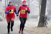 Silvestrovský běh v Kolářových sadech