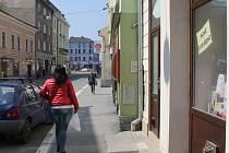 Kravařova ulice v Prostějově - 10. dubna 2015