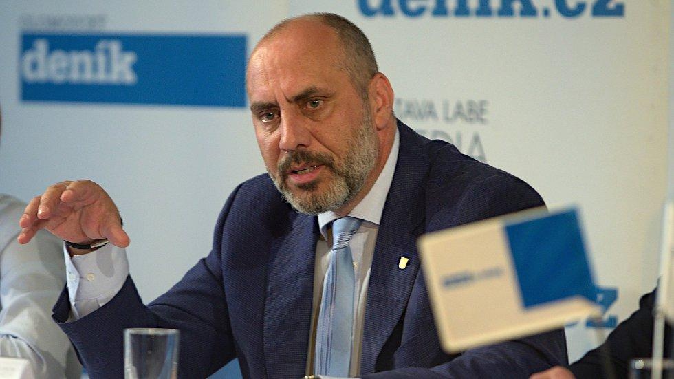 Prostějovský primátor František Jura