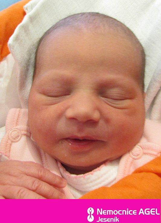 Tereza Žigová, Bernartice, narozena 11. dubna 2021