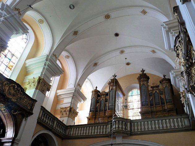 Kostel Povýšení sv. Kříže vProstějově.