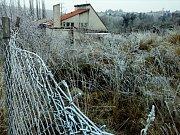 Chátrající motel Čubernice u plumlovské přehrady