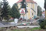 Stavební práce v Brodku u Prostějova