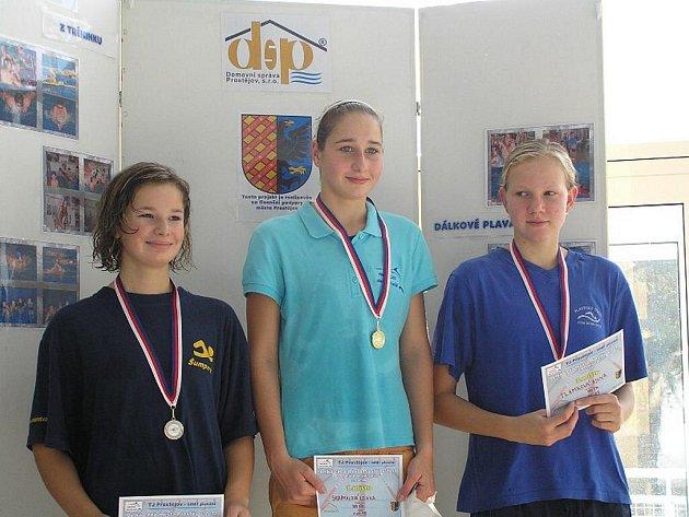 Vítězka Lenka Skoumalová
