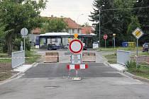 Oprava mostu v Čechovicích