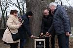 Slavnostní poklepání na základní kámen a oficiální zahájení stavby cyklostezky podél plumlovské přehrady - 27. 1. 2020