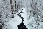 Sněhová nadílka na Plumlovsku - 28. 1. 2019