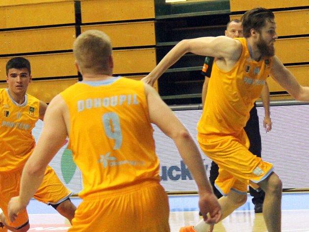 Prostějovští basketbalisté. Ilustrační foto
