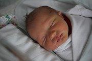 Evelína Hofmanová, Prostějov; narozena 2. ledna v Prostějově;, míra 48 cm, váha 2900 g