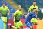 MOL Cup: Prostějov (ve světlém) v pohárovém zápase v Liberci