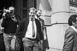 Václav Havel v Prostějově 28. května 1990