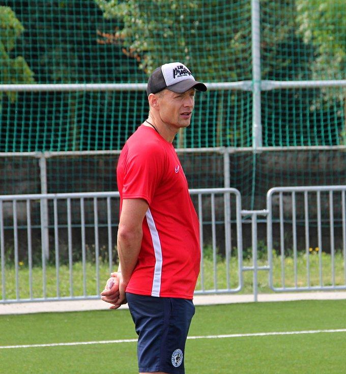 Druholigoví fotbalisté Prostějova se začali připravovat na novou sezonu.  Jiří Jarošík