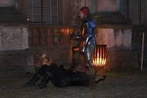 Noční prohlídka na plumlovské zámku