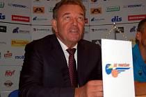 Předseda správní rady BK Prostějov Milan Matzenauer