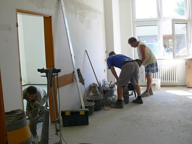 Rekonstrukce části prostějovské nemocnice