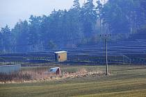 Slunenční elektrárna v Určicích