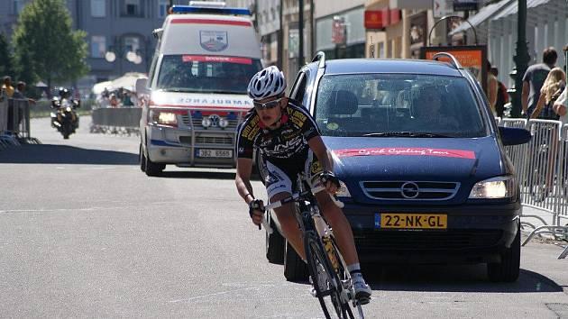CZECH CYCLING TOUR 2010 v Prostějově