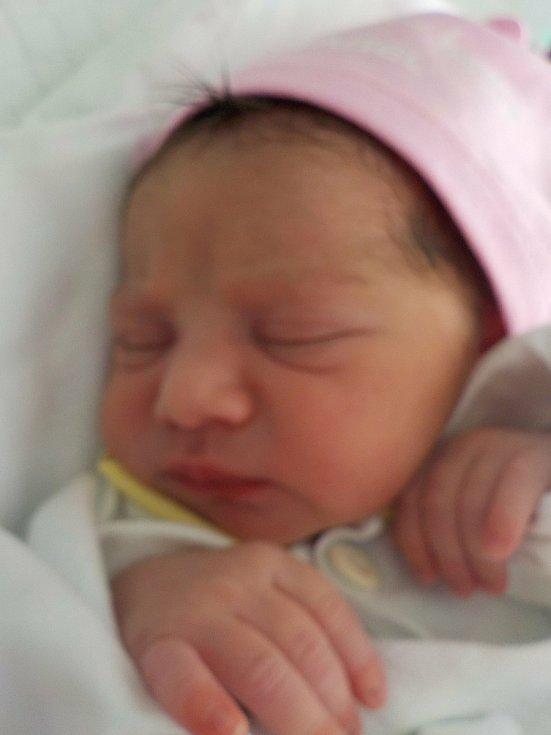Amálie Čurejová, Určice, narozena 30. června  2021, míra 41 cm, váha 2200 g