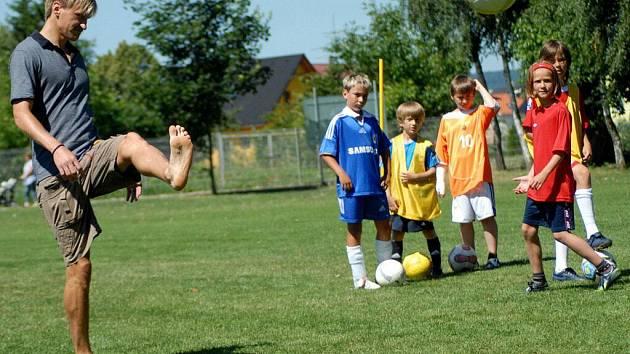 Fotbalový kemp v Olšanech u Prostějova