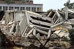 Ruiny OP po odstřelu