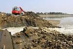Vypouštění horní laguny