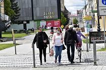 Rozvolňování koronavirových opatření v Prostějově. 25.5. 2020