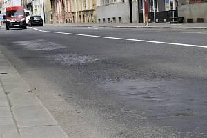 Ulice Vápenice v Prostějově
