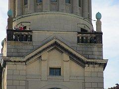 Vyhlídka z radniční věže v Prostějově