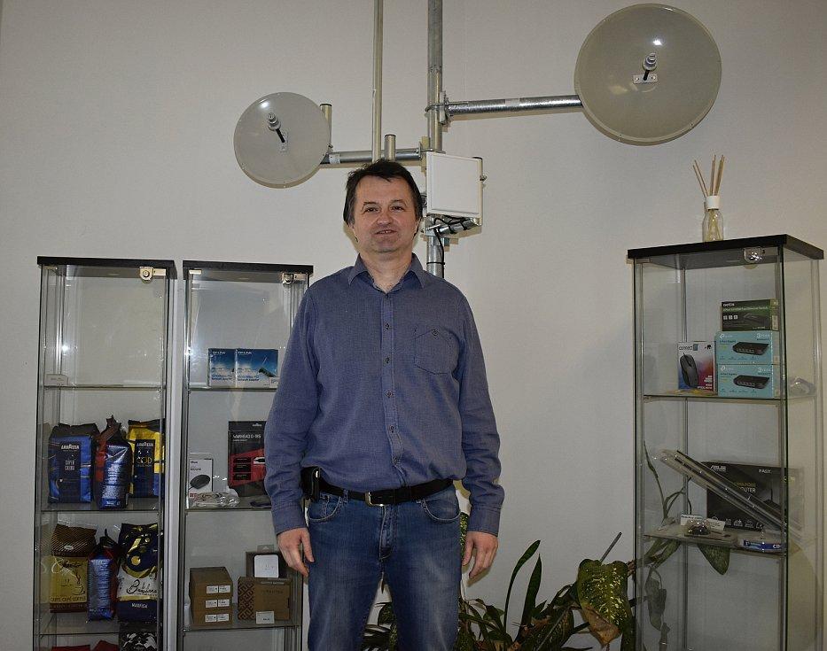 Jednatel firmy Sprintel Jiří Svozil je rodákem z Kralic na Hané.