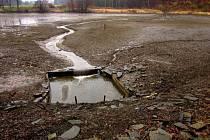 Vypuštěný rybník v Konici