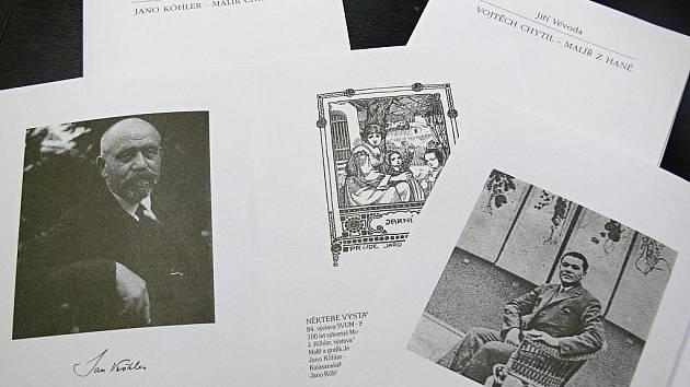 Bibliofilie věnující se Janu Köhlerovi a Vojtěchu Chytilovi