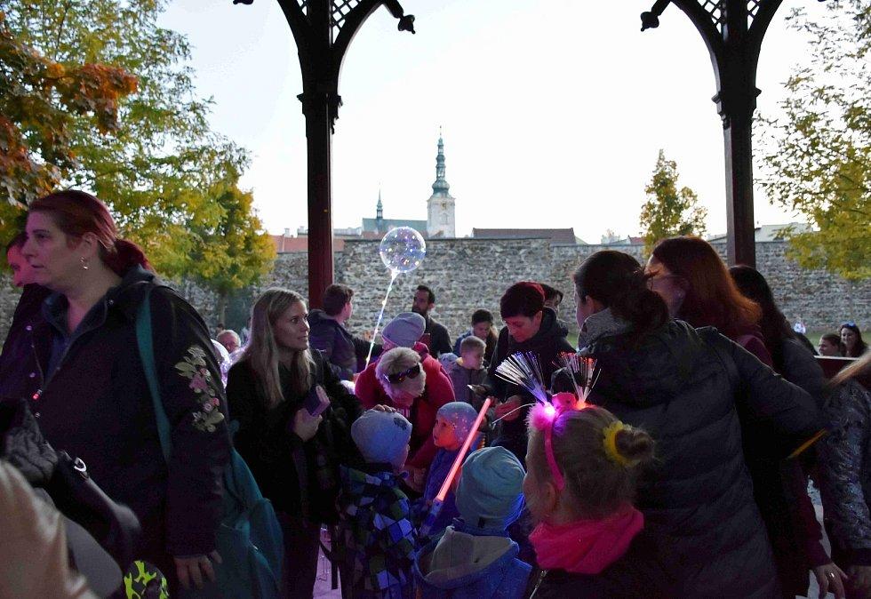 Dýňová stezka odvahy a zručnosti v prostějovských Smetanových sadech - 18. října 2019