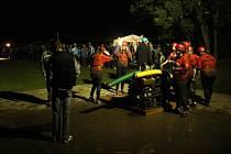 Noční soutěž hasičů v Dětkovicích